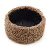 Кубанка натуральный каракуль коричневый 49188 56924