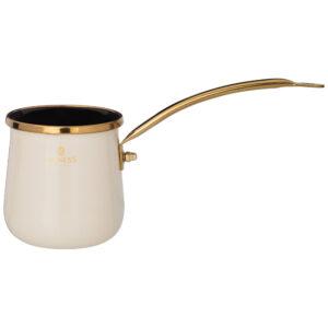 Турка agness эмалированная, серия тюдор 0,35л подходит для индукцион.плит 55541