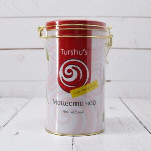 Чай черный байховый премиум в подарочной коробке Мацеста чай 57366