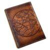 "Обложка на паспорт ""Карта полушарий"" 45543 83536"