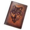 """Обложка на паспорт """"Волк"""" 45553"""