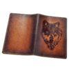 """Обложка на паспорт """"Волк"""" 45553 83419"""