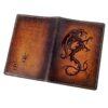"""Обложка на паспорт """"Огненный дракон"""" 45556 83542"""