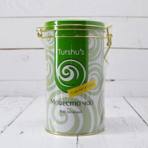 Чай зеленый байховый премиум в подарочной коробке Мацеста чай 57362