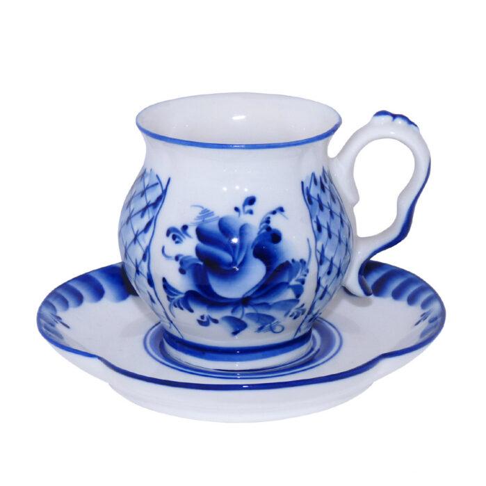 Чайная пара Голубая рапсодия (гжель) 57310