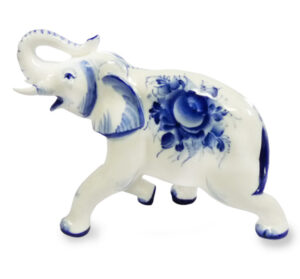 Слон N4 (гжель) 43244