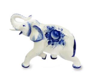 Слон N5 (гжель) 43245
