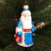 Игрушка на ёлку Дед Мороз со стразами (стекло) 53788 86047