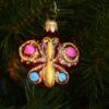 Игрушка на ёлку Бабочка (стекло) 51110 62130