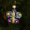 Игрушка на ёлку Бабочка (стекло) 51110