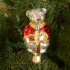 Игрушка на ёлку Крыс на прищепке (стекло) 51112