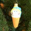 Игрушка на ёлку Мороженое (стекло) 51113 62135