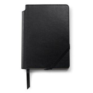 Записная книжка Cross Journal Classic Black AC281-1M , A5, черного цвета, с местом для хранения ручк