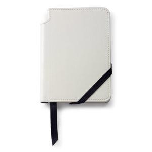 Записная книжка Cross Journal White, A6, белого цвета, с местом для хранения ручки, 160 страниц в ли