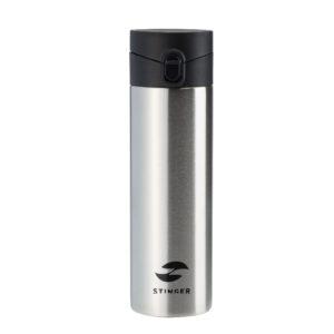 Термокружка Stinger, 0,5 л, сталь/пластик, серебристый 56397
