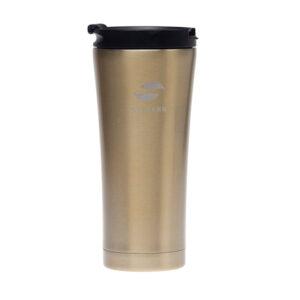 Термокружка Stinger, 0,45 л, сталь/пластик, коричневый глянцевый 52905
