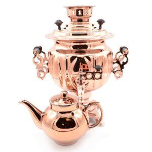 Самовар 3 л. с чайником Овал 44206