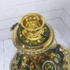 Самовар 3 л. с подносом и чайником Яблочный узор форма Рюмка 57407 109135