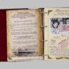 """Родословная книга """"Древо"""" кожаная обложка, с латунной накладкой """"Древо"""" 56954 109167"""