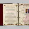 """Родословная книга """"Древо"""" кожаная обложка, с латунной накладкой """"Древо"""" 56954 109168"""