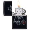 Зажигалка Zippo (зиппо) №49254 Bar Skull Design 88696