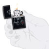 Зажигалка Zippo (зиппо) №49254 Bar Skull Design 88697