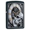 Зажигалка Zippo (зиппо) №29854 Skull Clock Design