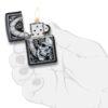 Зажигалка Zippo (зиппо) №29854 Skull Clock Design 88775