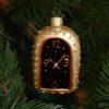 Игрушка на ёлку Часы овальные (стекло) 50951 62382