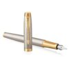 Перьевая ручка Parker IM Premium - Grey GT 1931684 36482