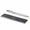 Шариковая ручка Parker Sonnet Core Slim - Stainless Steel GT 1931508 42149