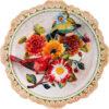 Тарелка декоративная «Птицы в цветах» 31697