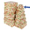 Подарочная коробка 7,5х7,5х4,5см «Акварель» 45929