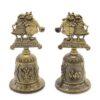 Колокольчик Краснодар Собачки (бронза) 50242