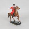 Статуэтка Казак на гнедом коне 15 см, полноцвет (ручная роспись) 55223 90562