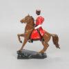 Статуэтка Казак на гнедом коне 15 см, полноцвет (ручная роспись) 55223 90563