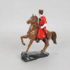Статуэтка Казак на гнедом коне 15 см, полноцвет (ручная роспись) 55223 90564