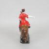 Статуэтка Казак на гнедом коне 15 см, полноцвет (ручная роспись) 55223 90566