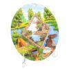 Тарелка Отдых на природе - Река с хатой 50266 57174